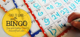back to school :: i heart math bingo!