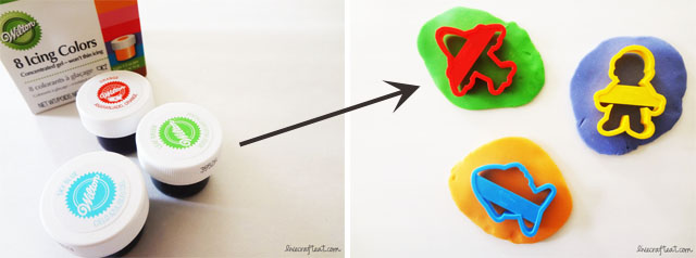 how to make homemade playdough colors bright and vibrant