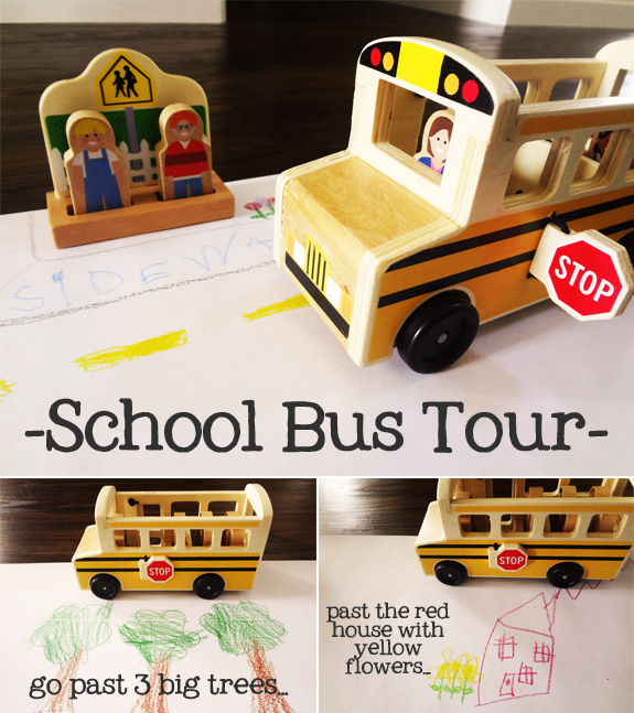 Take a School Bus Tour