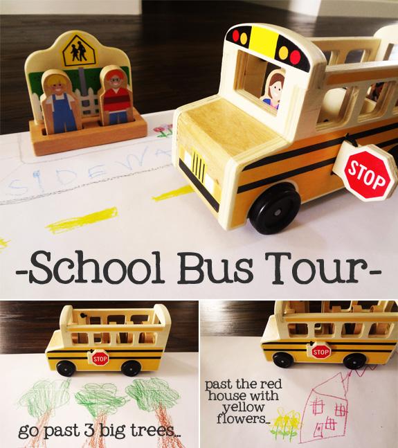 Take a School Bus Tour
