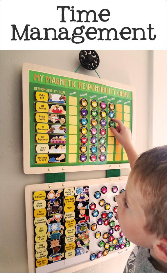 1. teach time management