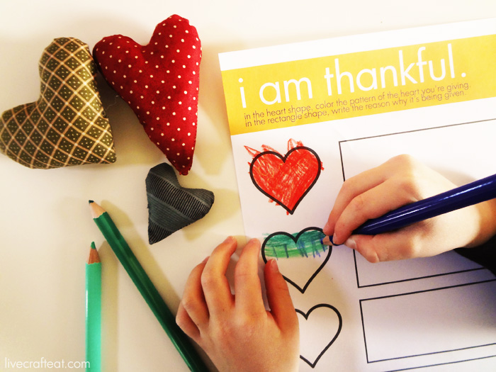 a thankful heart printable