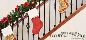 make it yourself :: christmas stockings