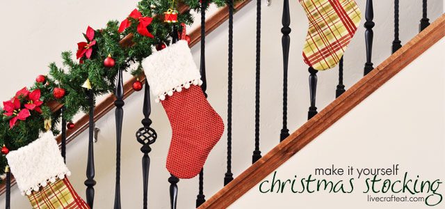 make ti yourself :: christmas stockings