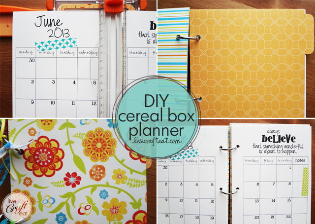 Diy Notebook Calendar : Monthly calendar free diy printable live