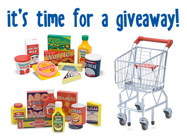 melissa & doug kitchen items giveaway