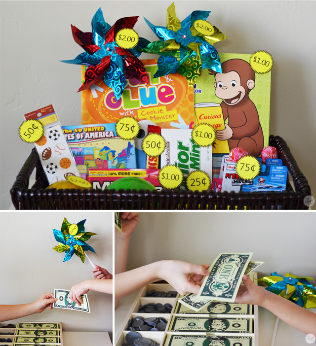"teaching to kids work and budget - part of ""3 activities to help teach your children about financial responsibility."