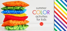 summer color activities for kids