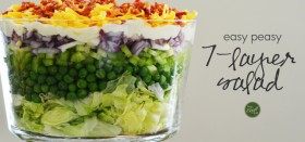 easy 7-layer salad recipe
