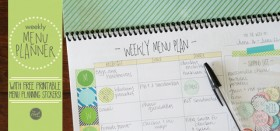 how and why i menu plan.