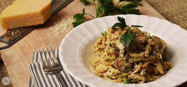 easy peasy chicken tetrazzini