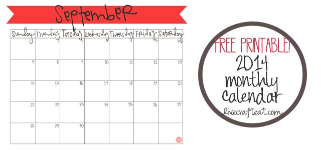 freebie calendars