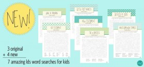 *new* lds word searches for kids