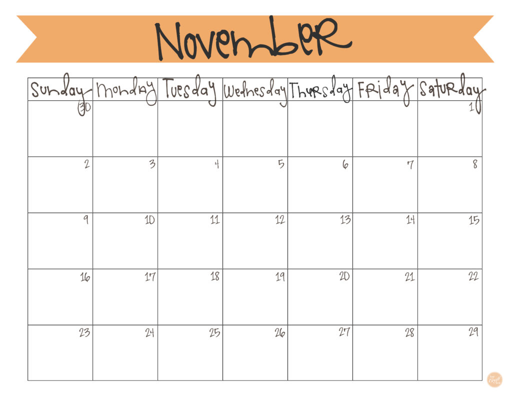 click here to download your free november 2014 calendar! }