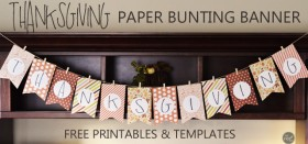 bunting banner templates and tutorial