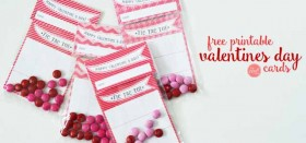printable valentine's day cards :: tic tac toe