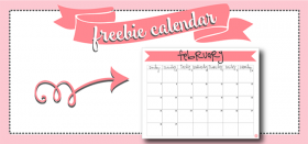 free printable monthly calendar :: february 2016