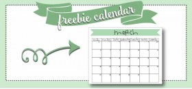 free printable monthly calendar :: march 2016