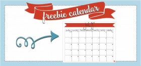 free printable monthly calendar :: july 2016