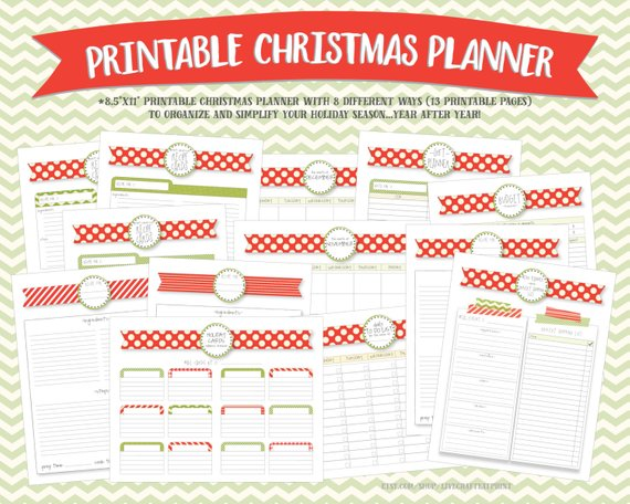 christmas planner normal