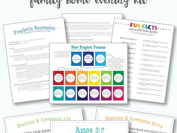 how does the lds church choose their prophet? what happens when a prophet passes away? who is next in line to be the prophet? answers to all of these questions in this free printable lds family home evening kit :: prophetic succession