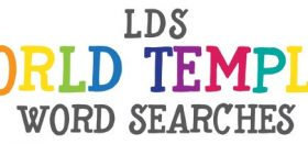 lds world temples word searches