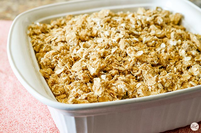 how to make cranberry apple crisp