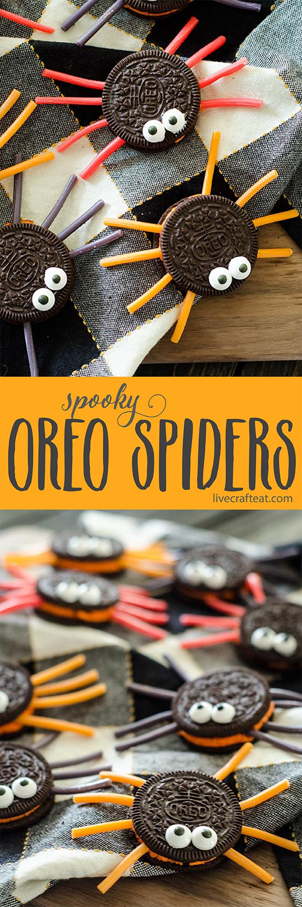 kid-friendly, adorable, and incredibly easy to make! oreo spider cookies are the perfect treat for halloween.