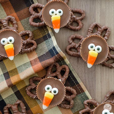 easy chocolate turkeys