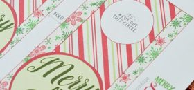 printable christmas-themed bottle tags
