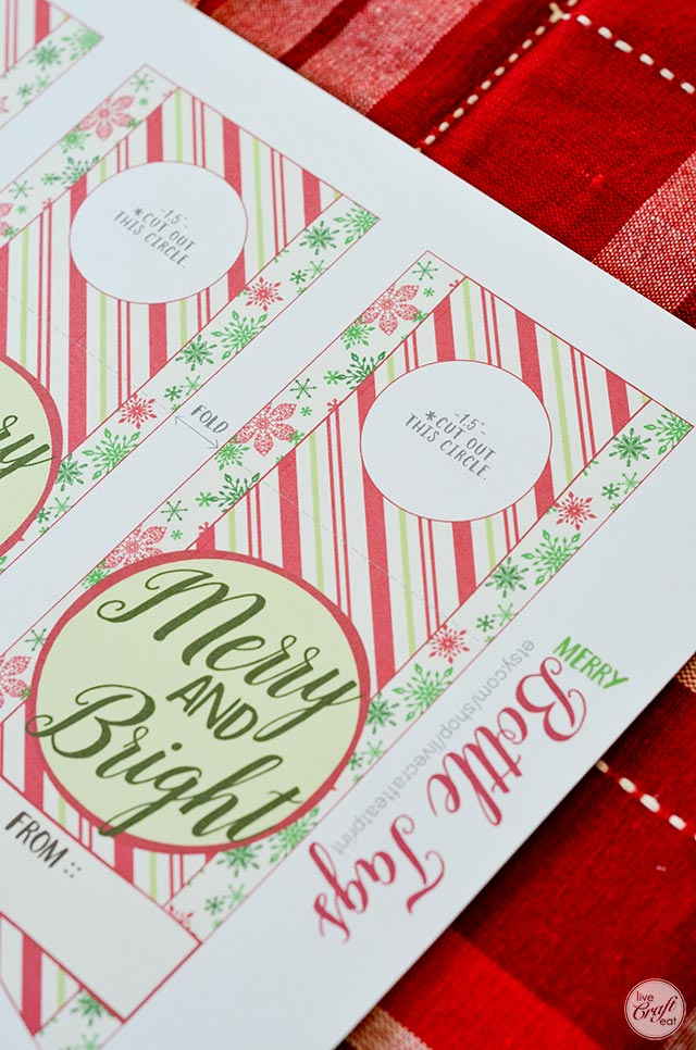 printable bottle tags for the holidays