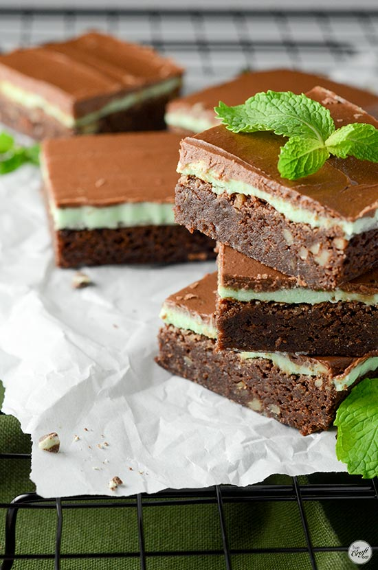 homemade chocolate mint brownie recipe