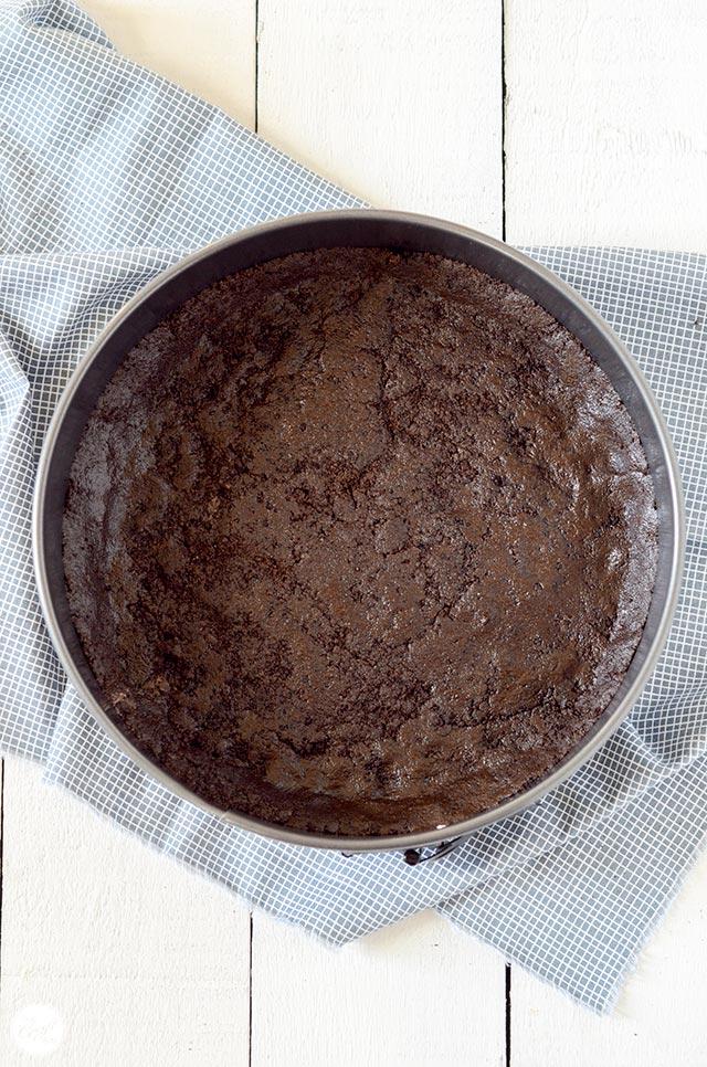 oreo nutella cheesecake crust :: no-bake!