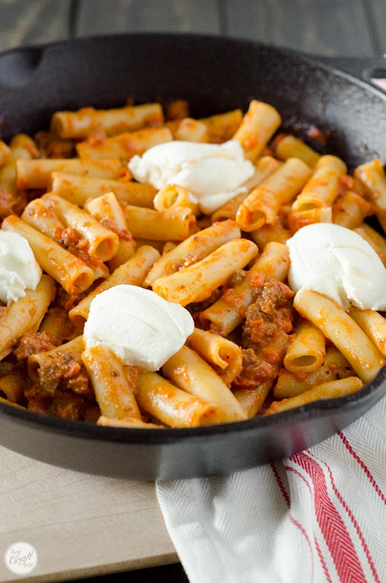 baked ziti with ricotta cheese