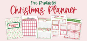 The Ultimate Christmas Planner - 26 FREE printable pages!