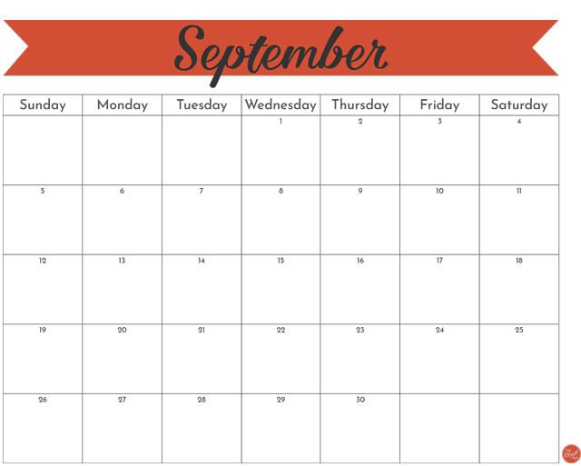 "September 2021 monthly calendar :: free printable 8.5""x11"" calendar"